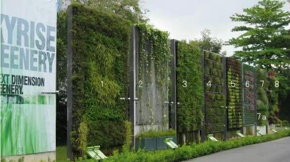 园林防风墙设计